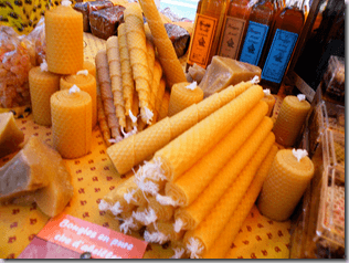Beeswax Candles photo by Sheena Carmichael