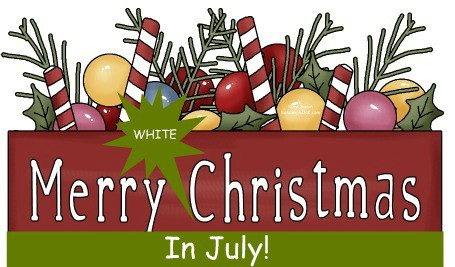 Christmas In July Party Clipart.Welcome To A Merry White Christmas In July Blog Party For